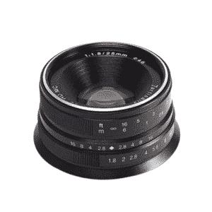 7Artisan 25mm F1.8 Canon M